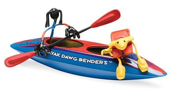 Double Kayak Benders - Kayak Dawg Benders picture
