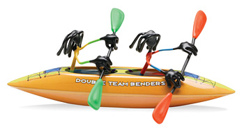 Double Kayak Benders - Double Team Benders picture