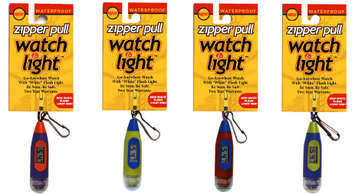 Zipper Pull Watch & White Light picture