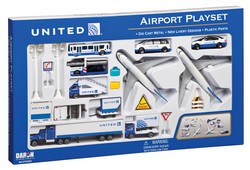 United 24 Piece Playset Post Co Merger Livery picture