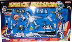 Space Mission 28 Piece Playset W/MISSION Control Sign picture