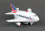 American Airlines Pullback W/Light & Sound New Livery