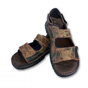 Camouflage Leather Sandals picture