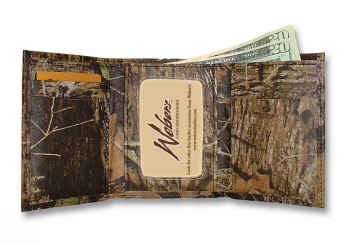 Camouflage Leather Trifold picture