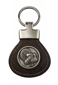 Wildlife Leather Key Ring picture