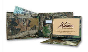 Camouflage Leather Billfold picture