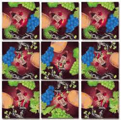 Vin, Vino, Wein, Wine! Scramble Squares® picture