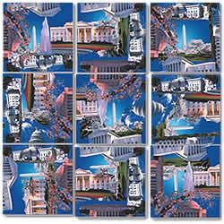Washington, DC Scramble Squares® picture