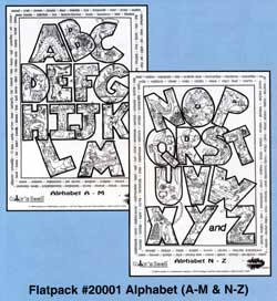Color 'n Seek® Alphabet Flat Pack picture