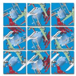Vintage Airplanes Scramble Squares® picture