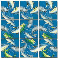 Deep Sea Fish Scramble Squares® picture