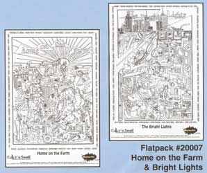 Color 'n Seek Home on the Farm/Bright Lights Flatpack picture