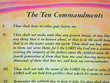 Ten Commandments Poster-English additional picture 1