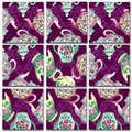 Teapots Scramble Squares®