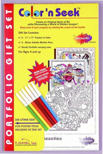 Color 'n Seek®, Portfolio Gift Set #1 picture