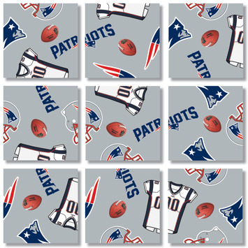 New England Patriots, NFL Scramble Squares® picture