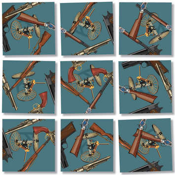 Historic Guns, Scramble Squares picture