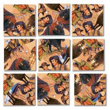 Lewis and Clark Scramble Squares&reg; picture