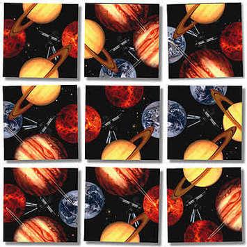 Planets Scramble Squares® picture