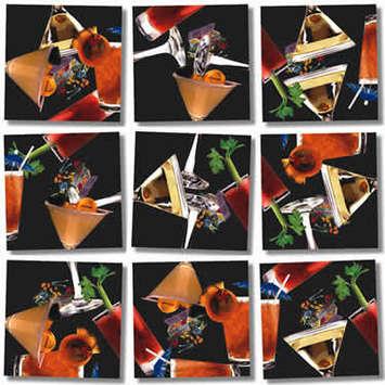 Cocktails Scramble Squares® picture