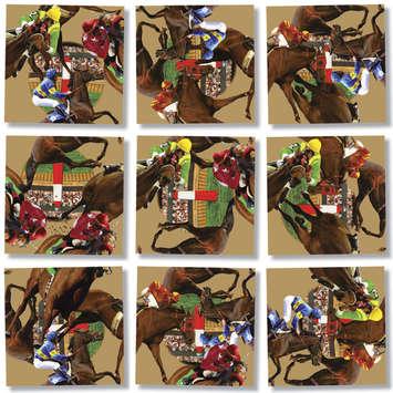 Horse Racing, Scramble Squares® picture