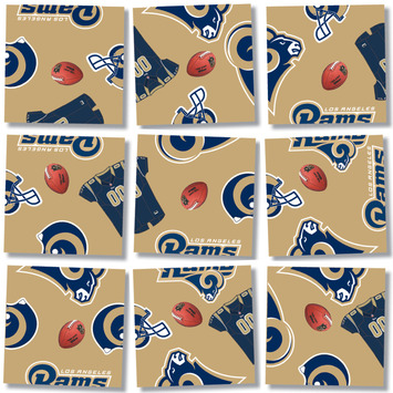 Los Angeles Rams, NFL Scramble Squares® picture
