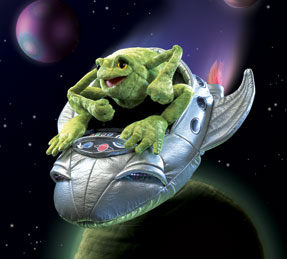 Frog in Spaceship picture
