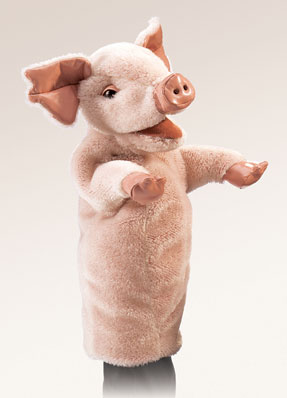 Pig Stage Puppet picture