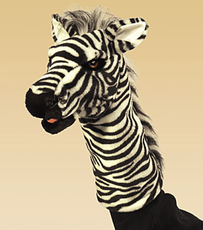 Zebra Stage Puppet picture