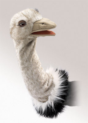 Ostrich Stage Puppet picture