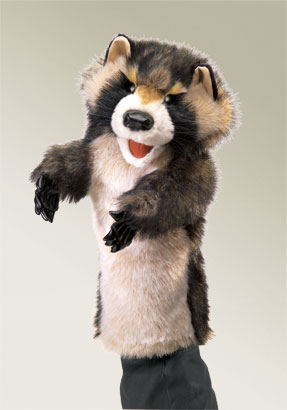 Raccoon Stage Puppet picture
