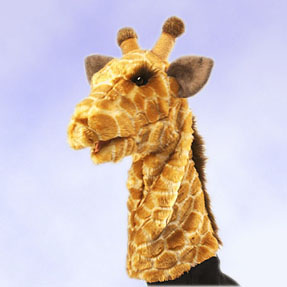 Giraffe Stage Puppet picture
