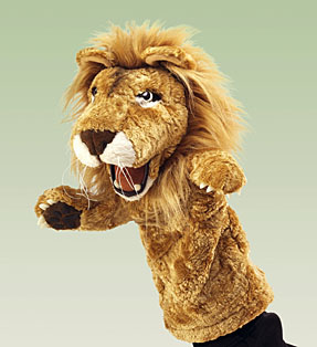 Lion Stage Puppet picture