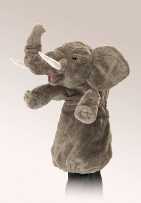 Elephant Stage Puppet picture