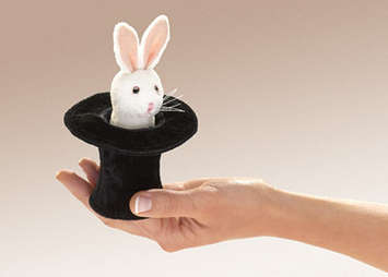 MINI RABBIT IN HAT picture