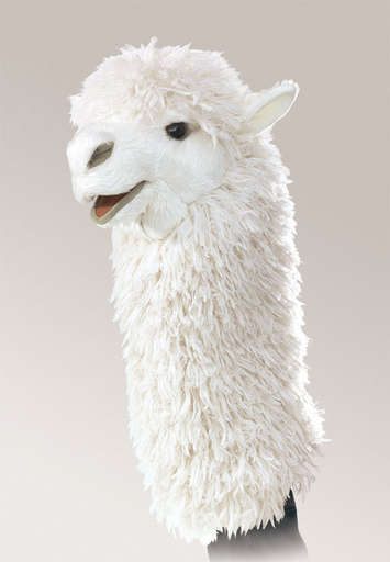 Alpaca Stage Puppet picture