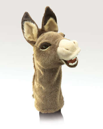 Donkey Stage Puppet picture