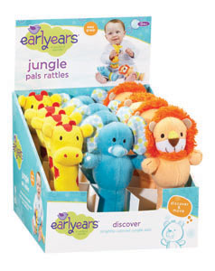 Jungle Pals Rattle picture