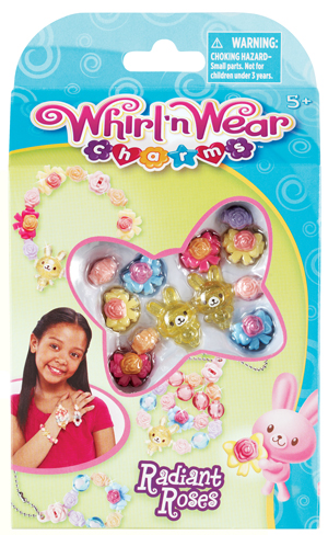 Whirl 'n Wear Charms Radiant Roses picture