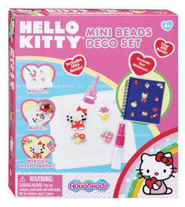 Hello Kitty Aquabeads Mini Beads Deco Set picture