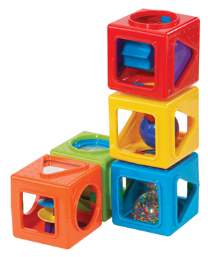 Stacking Activity Cubes picture