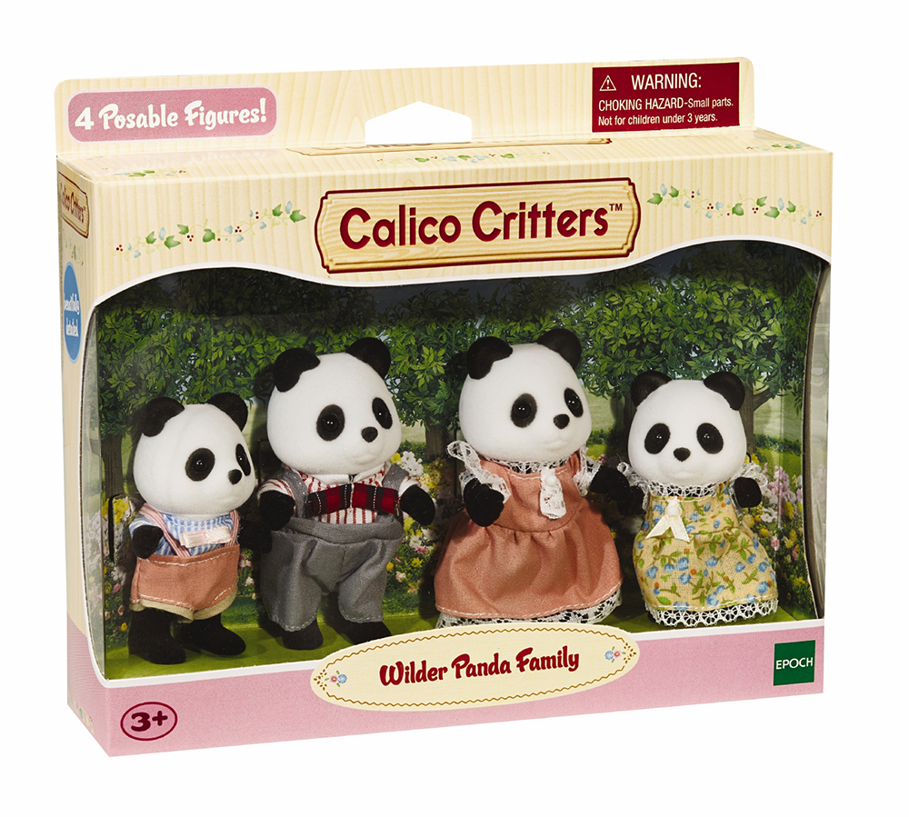 Wilder Panda Bear Family picture