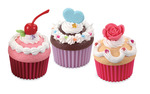Puffy Cupcakes Set