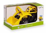 "8"" Black & Yellow Medium Tractor"