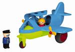 "10"" Large Fun Color Jet Plane"