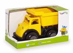 "8"" Black & Yellow Medium Dump Truck"