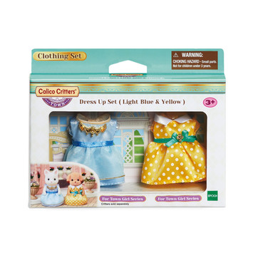 Dress Up Set (Light Blue and Yellow) picture