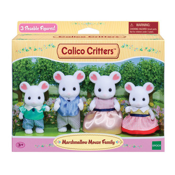 Marshmallow Mouse Family picture