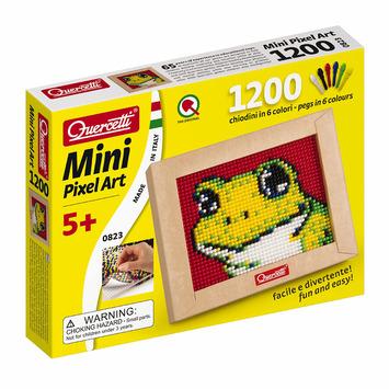 Mini Frog Pixel Art picture