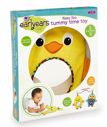 Flippy Flap Tummy Time Toy picture
